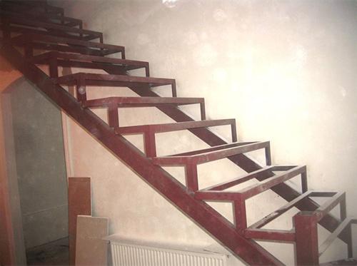 Сделать лестницу металлическую своими руками фото