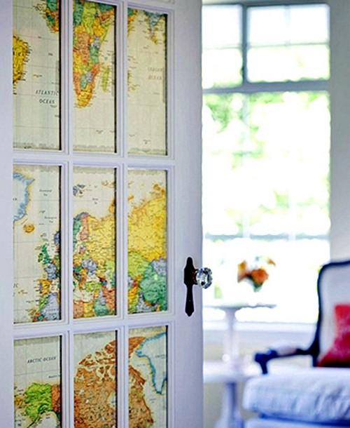 Карты двери своими руками