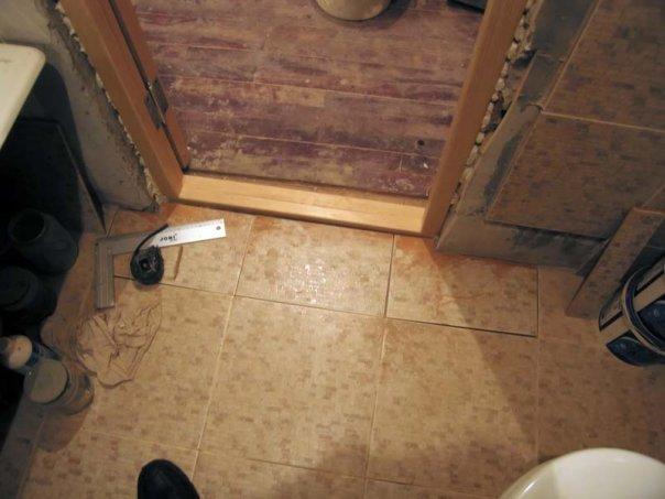 Установка дверей своими руками в ванной