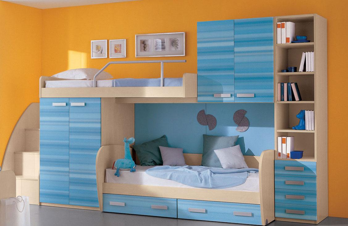 Размеры двухъярусной детской кровати: изготовление и варианты