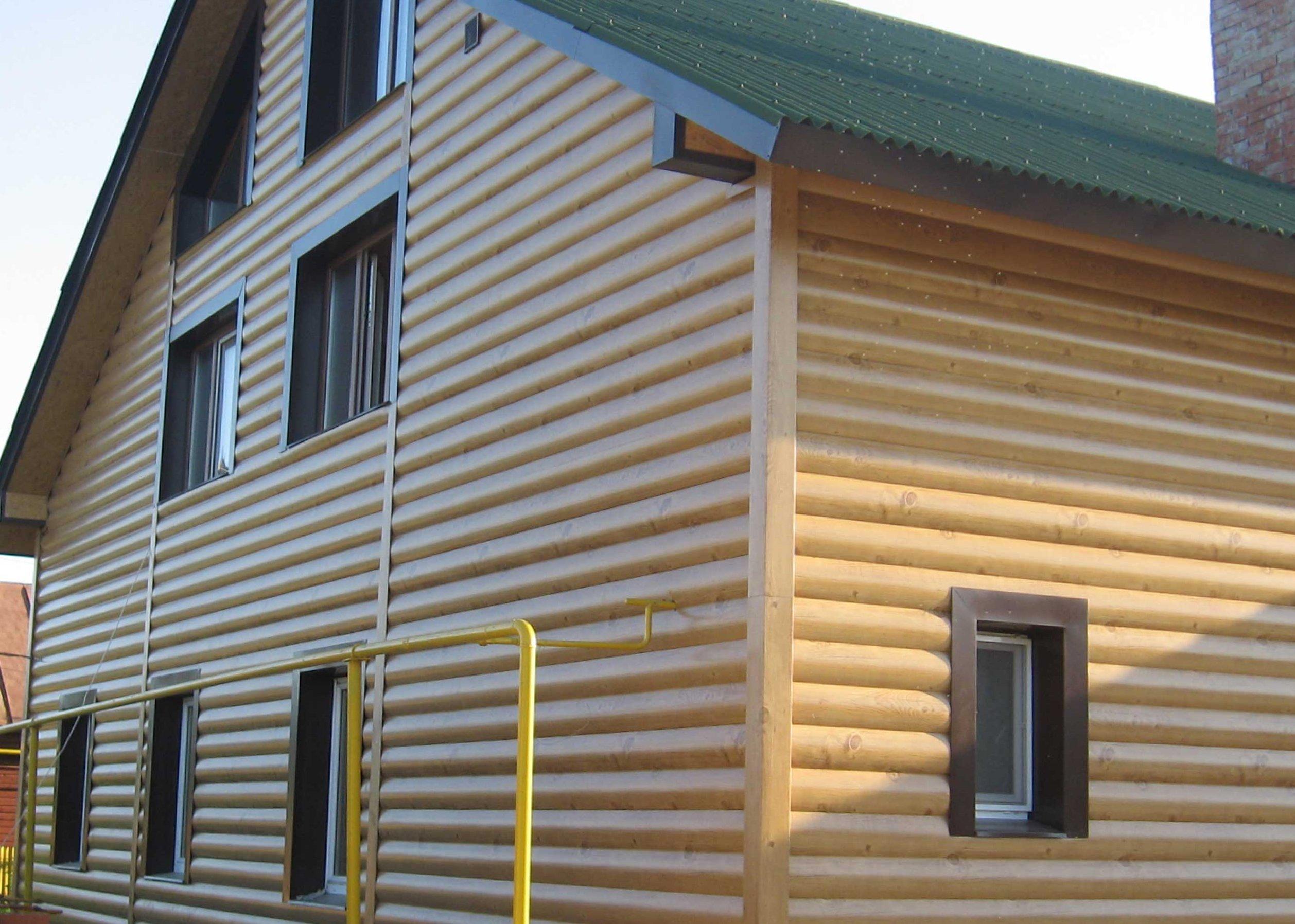 Обшивка дома вагонкой снаружи - деревянная и пластиковая наружная 78