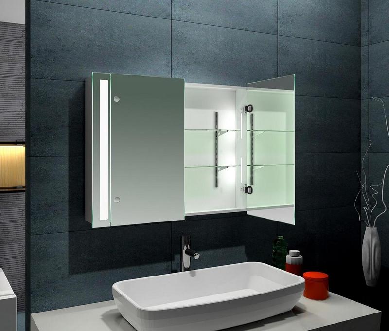 Зеркало в ванну комнату своими руками