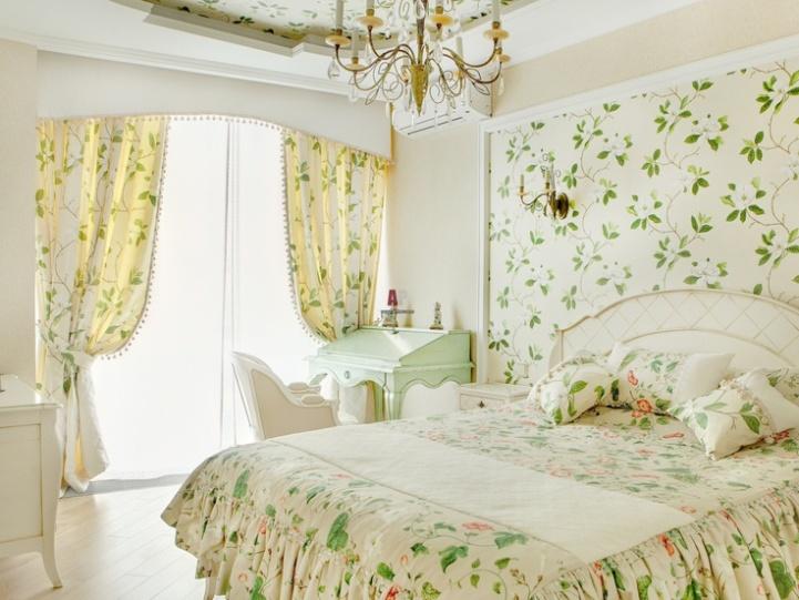 Дизайн спальни в стиле пэчворк