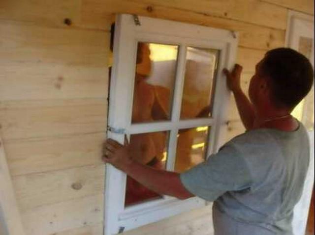 Пластиковые окна на дачу своими руками