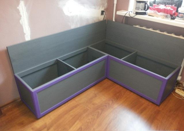 Угловой Кухонный Диван Своими Руками - Домашняя идея