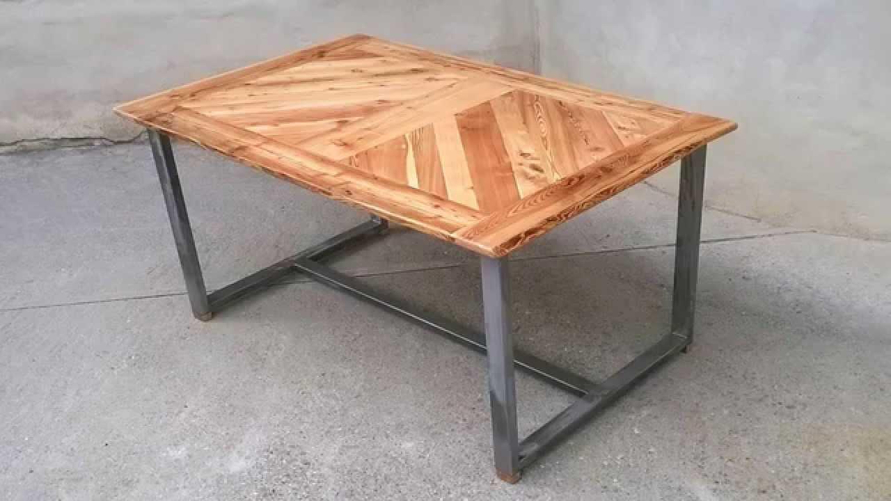 Стулья и столы из профильной трубы своими руками