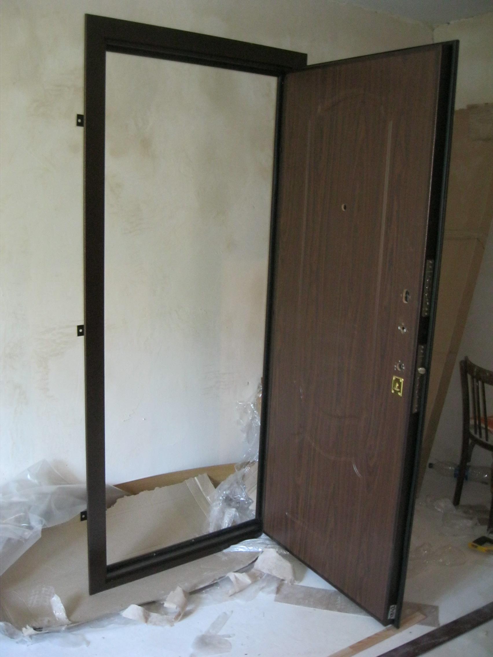 Изготавливаем металлическую дверь своими руками фото 999