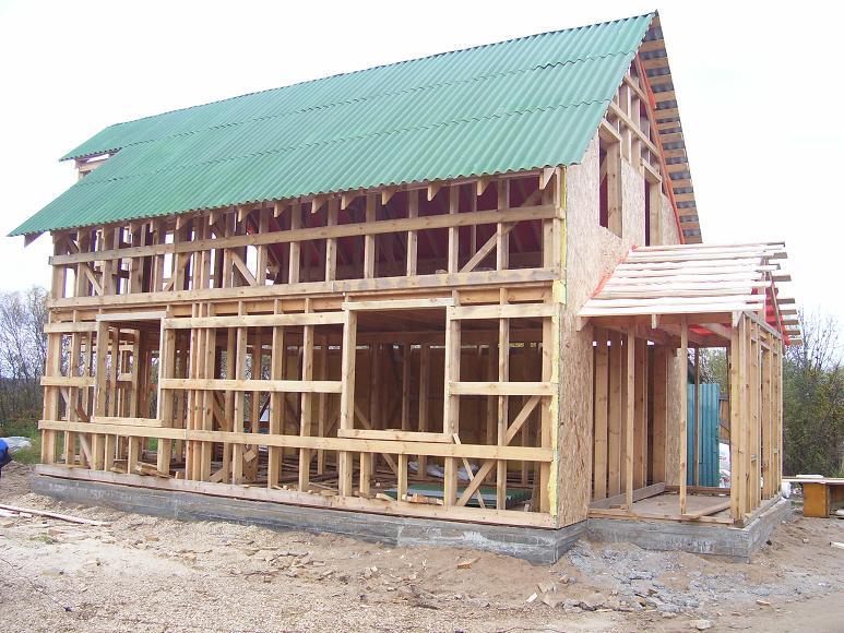 Каркасный дачный домик своими руками пошаговая инструкция