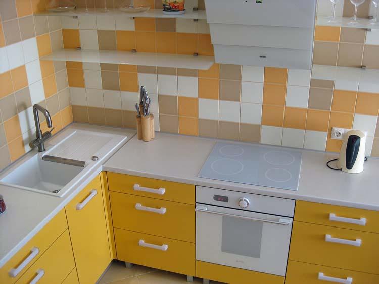 Как сделать угловую кухню из прямой 99