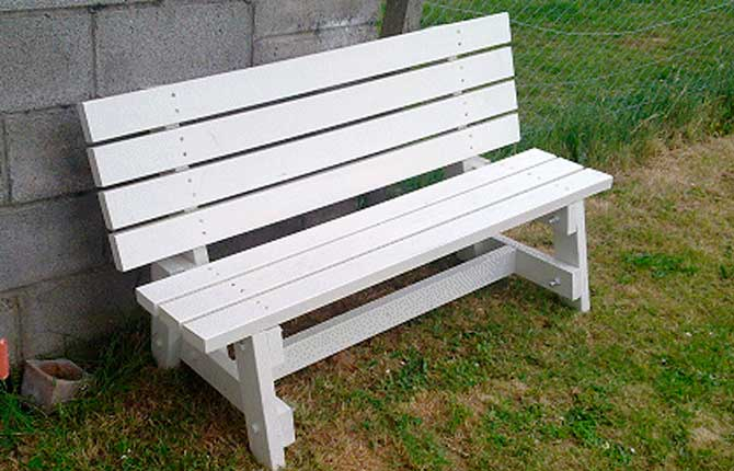 фото своими руками скамейки из дерева