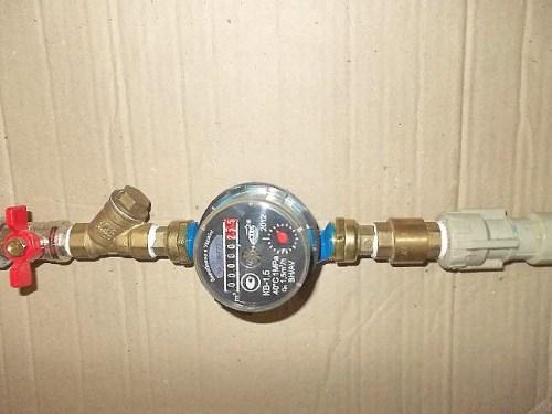 Как установить счетчик воды в квартире своими руками 62