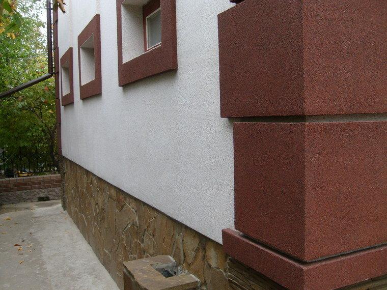 Какой краской красить фасад по штукатурке