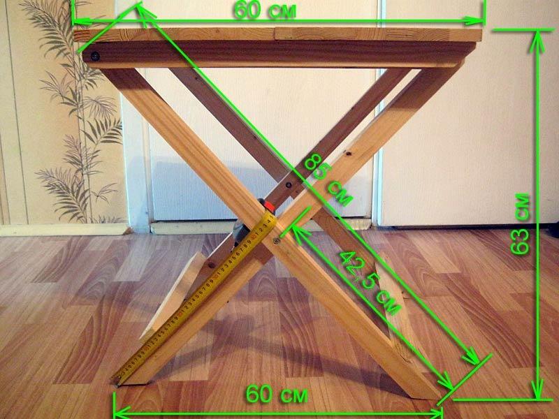 Раскладной стол для пикника своими руками фото 9