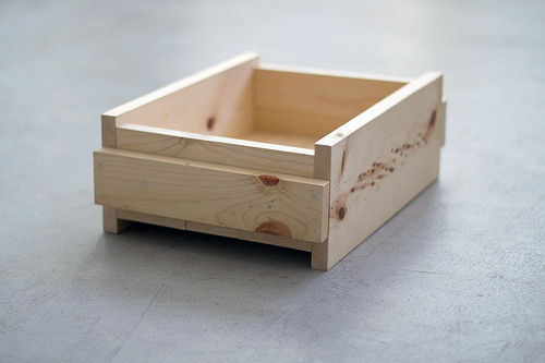 Ящик к тумбочке своими руками