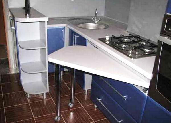 Компактная мебель-трансформер для кухни и спальни 71