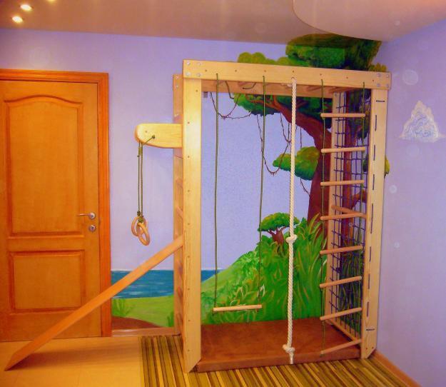 Детские комплексы для квартиры своими руками 295