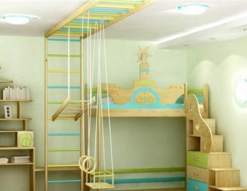 Детские комплексы для квартиры своими руками 185