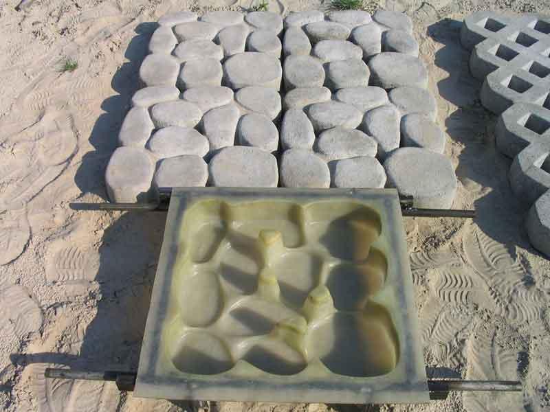 Изготовление плитки тротуарной в домашних условиях - Belbera.Ru