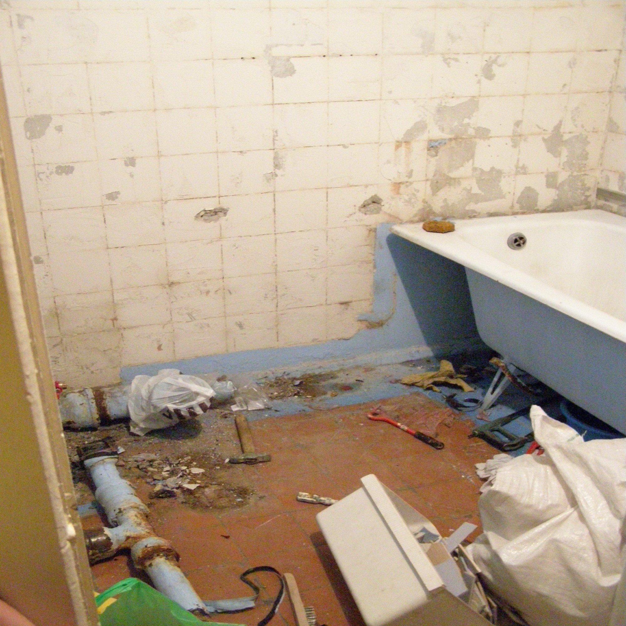 Ванная комната с туалетом своими руками 3