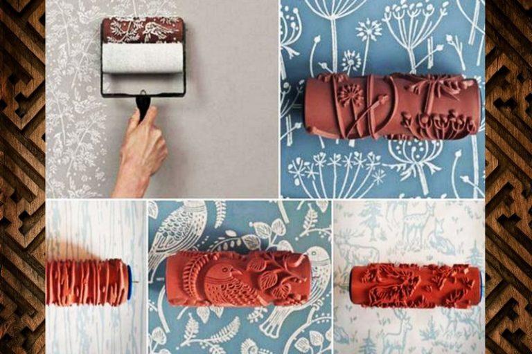 Как сделать валик для декоративной покраски своими руками 94