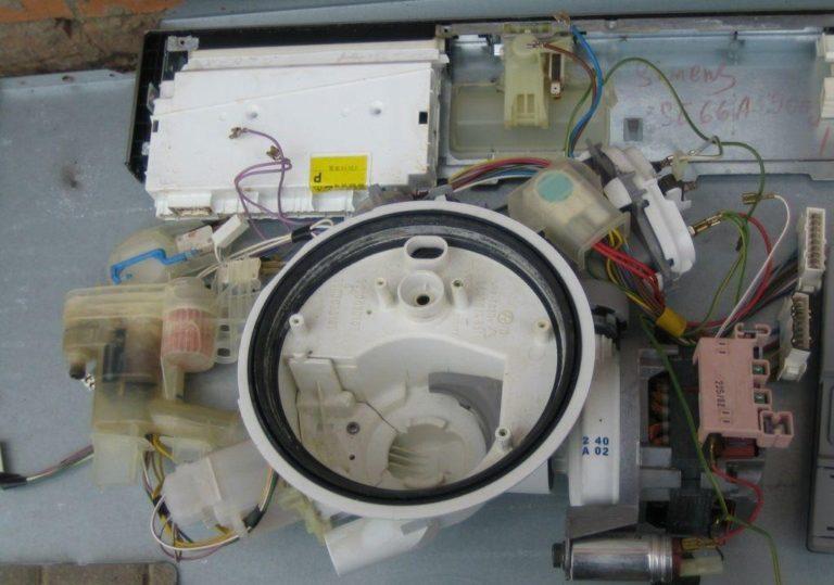 Посудомоечная машина сименс ремонт своими руками
