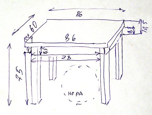 Детский столик из дерева своими руками чертежи 42