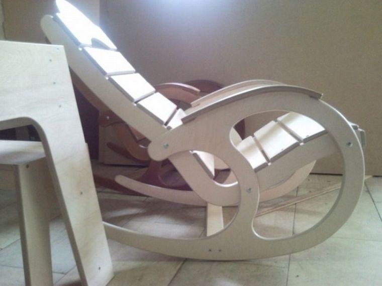 Кресла качалки своими руками фото с размерами