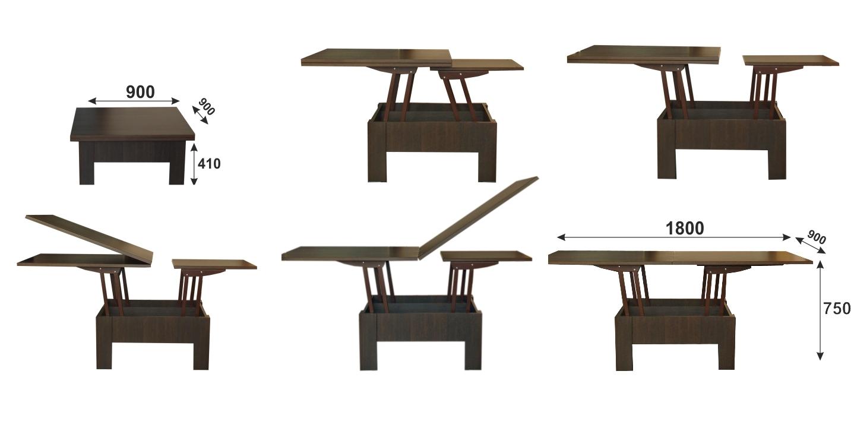 Круглый стол своими руками чертежи