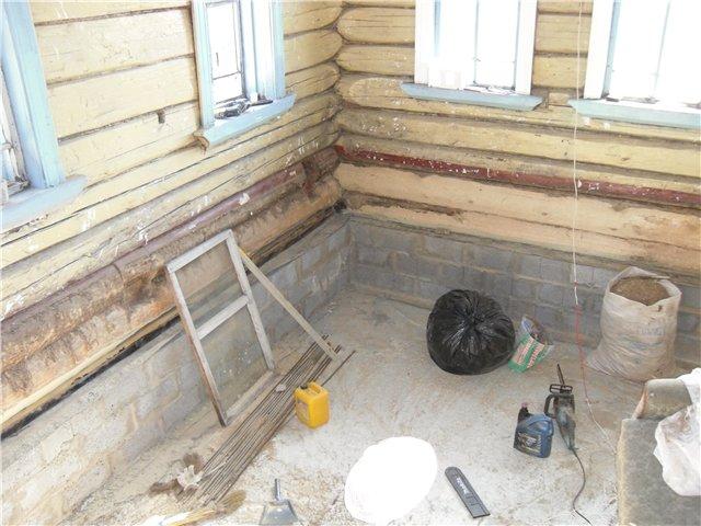 Ремонт в старом деревянном доме своими руками фото