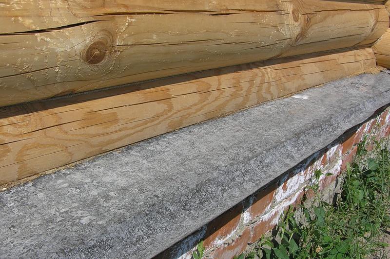 Гидроизоляция нижнего венца деревяного дома наливные полы 3д архангельск