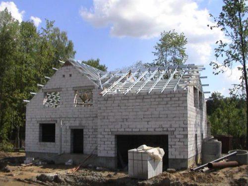 Как построить дом из пеноблоков своими руками проекты фото