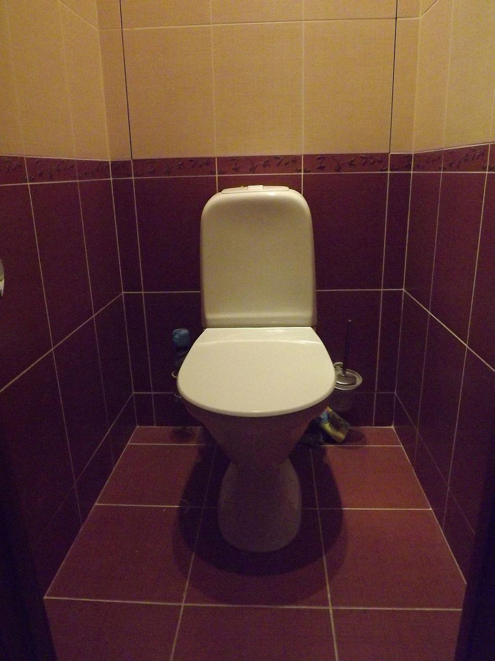 Как поменять туалет своими руками