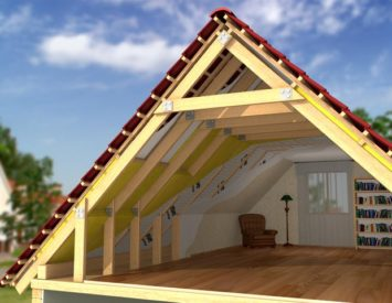 Как сделать крышу мансарды видео фото 526