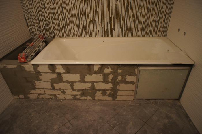 Экран для ванной своими руками. Инструкция по изготовлению экрана для ванной. Экран под ванну: виды, требования, способы монтажа