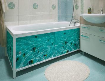 Экран под ванну своими руками: как лучше сделать, установить
