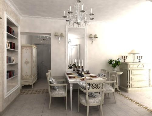 58-500x382 Ручная роспись мебели своими руками в стиле Прованс и в русском стиле как бизнес