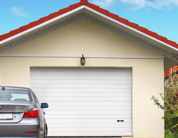 гаражные ворота своими руками технология монтажа гаражных